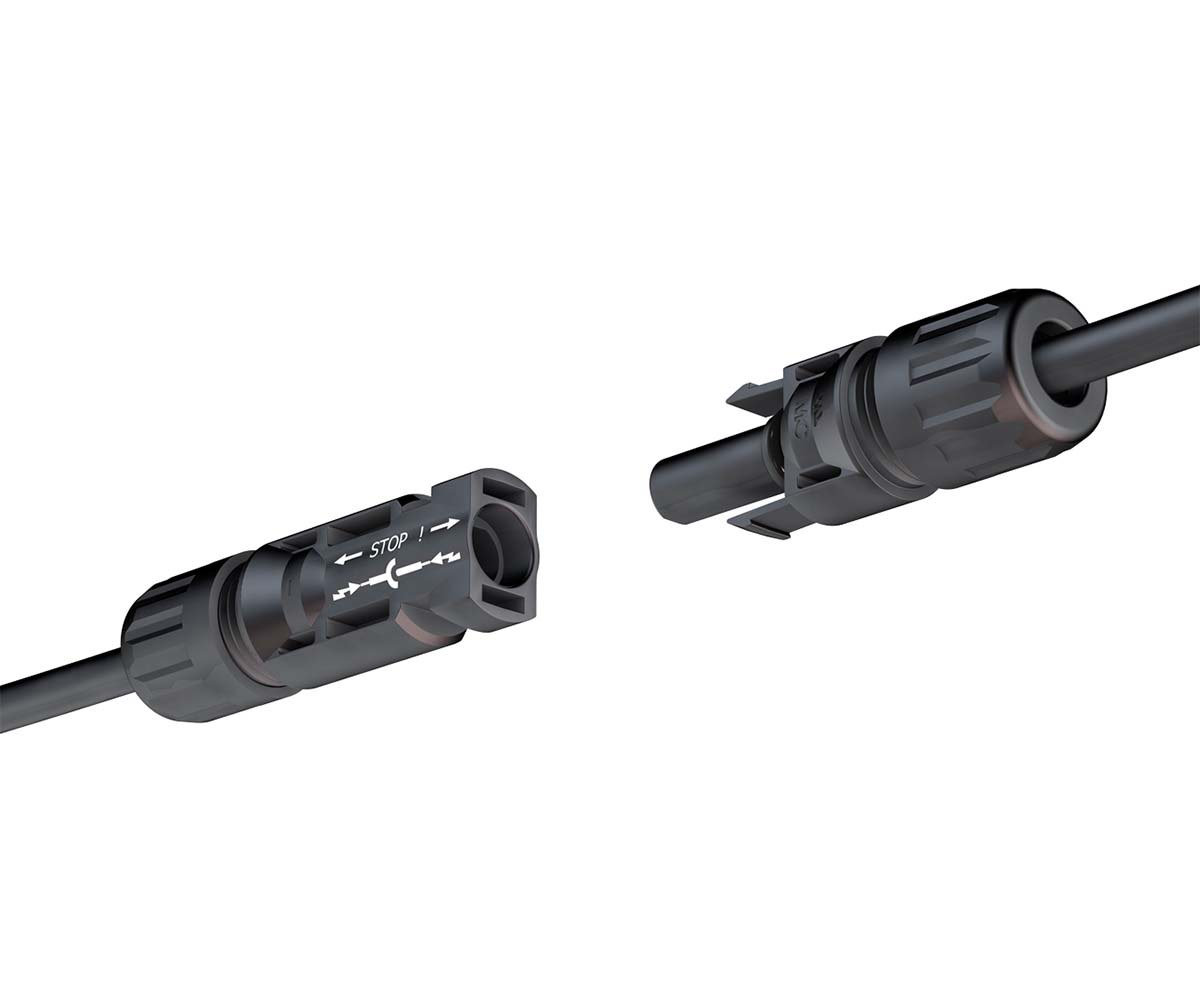 Conector MC4 multicontact serie